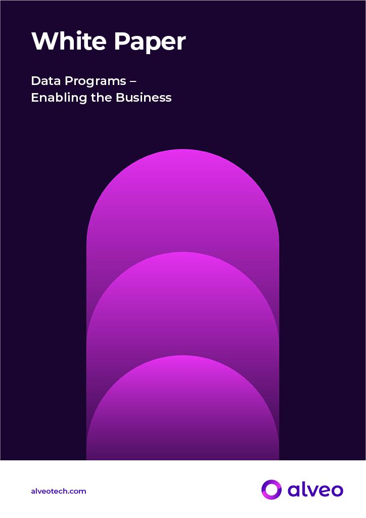 Data Programs – Enabling the Business