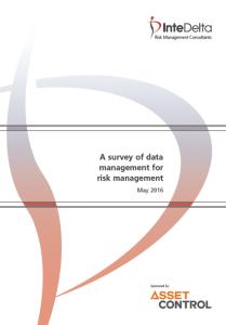 Data Management for the risk management