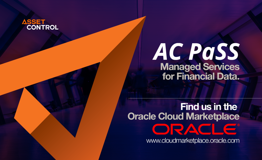 Asset Control's AC PaSS is Powered by Oracle Cloud and Now Available in the Oracle Cloud Marketplace