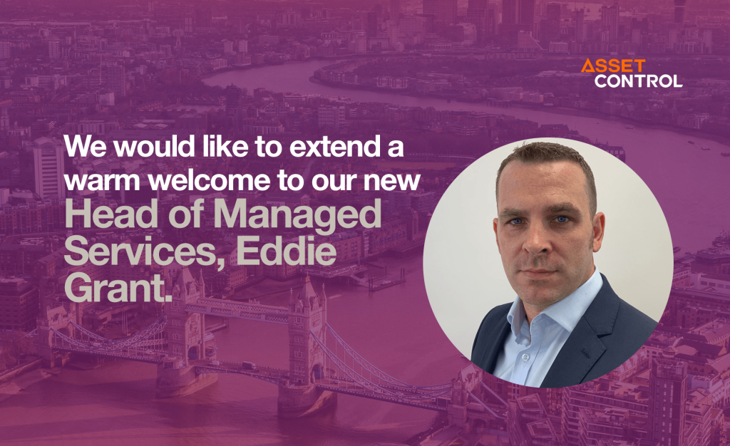 Asset Control Hires Eddie Grant to Drive Managed Services Growth