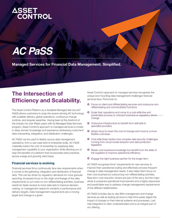 AC PaSS Overview