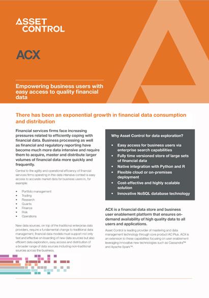 ACX Brochure - Asset Control