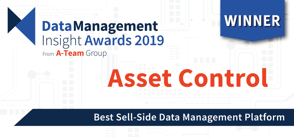 Asset Control Wins Major Sell-Side Data Management Award