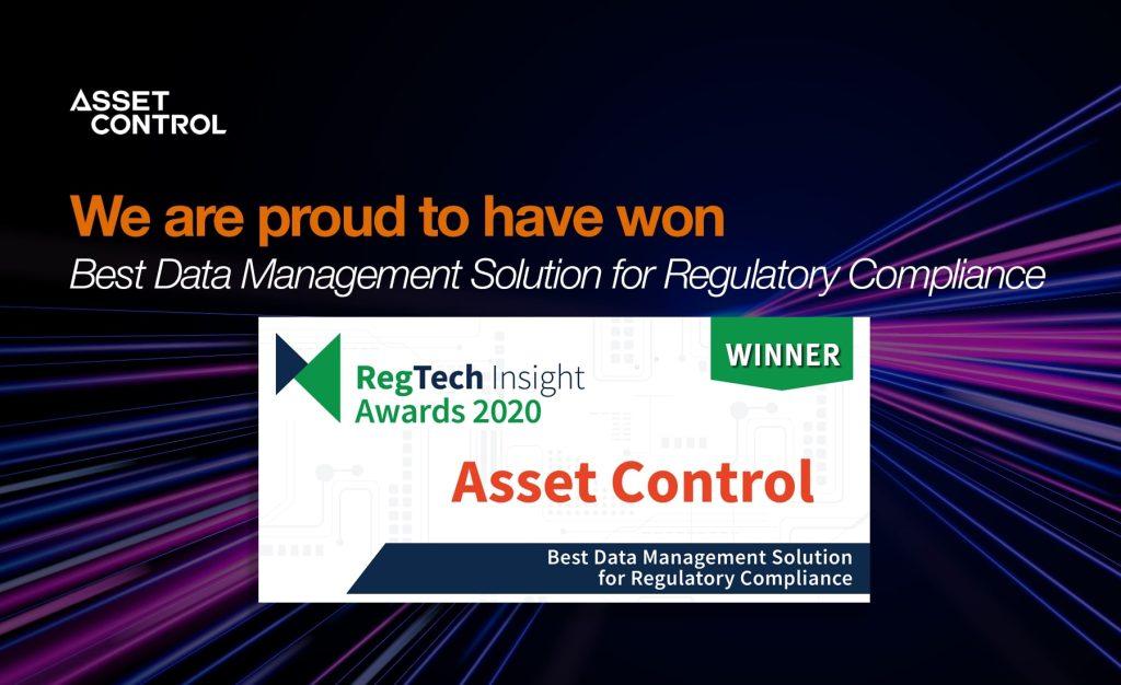 Asset Control Wins Best Data Management Solution <p>for Regulatory Compliance