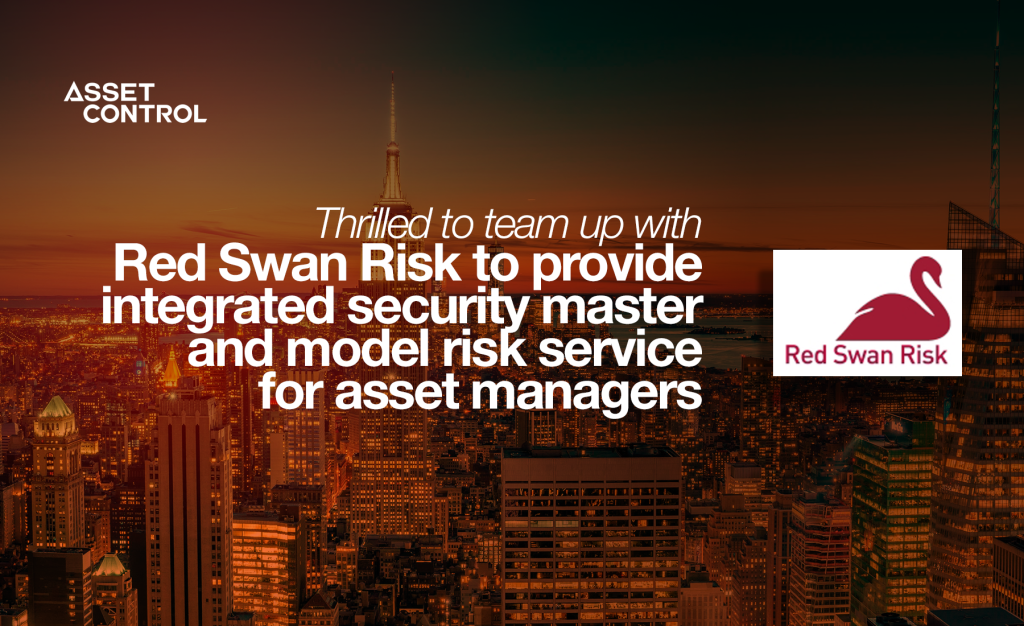 Red Swan Risk and Asset Control team up to provide integrated <p>security master and model risk service for asset managers