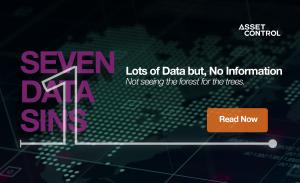 7 data sins, sin 1 - lots of data but no information