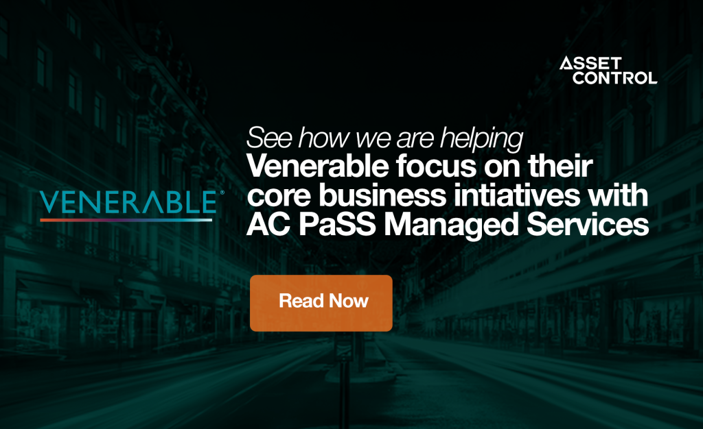 Venerable chooses managed services solution from <p>Asset Control to streamline data management