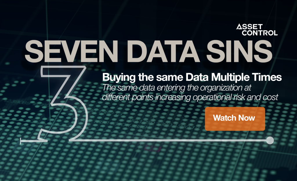 7 Data Sins Series: Buying the same data multiple times