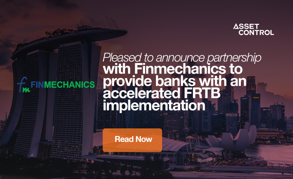 Alveo and Finmechanics unveil an integrated solution to accelerate FRTB implementation and boost operational efficiency