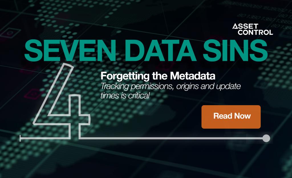7 Data Sins Series: Metadata matters