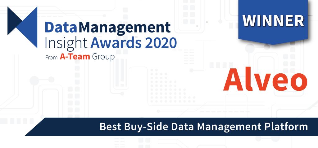 Alveo Wins Major Buy-Side Data Management Award