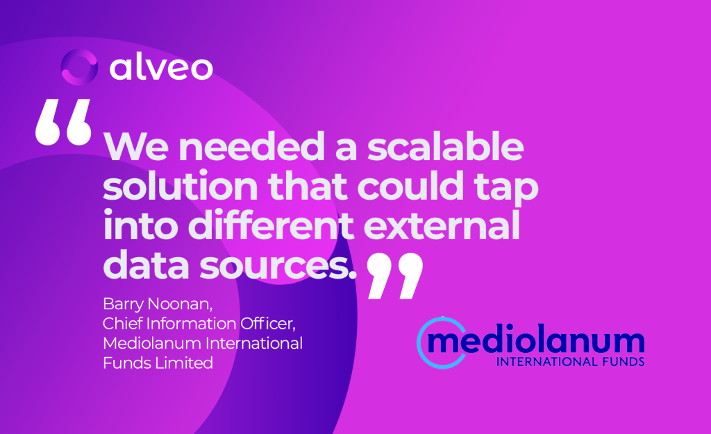 Mediolanum International Funds chooses managed services solution from Alveo to streamline data management and improve data access and analytics