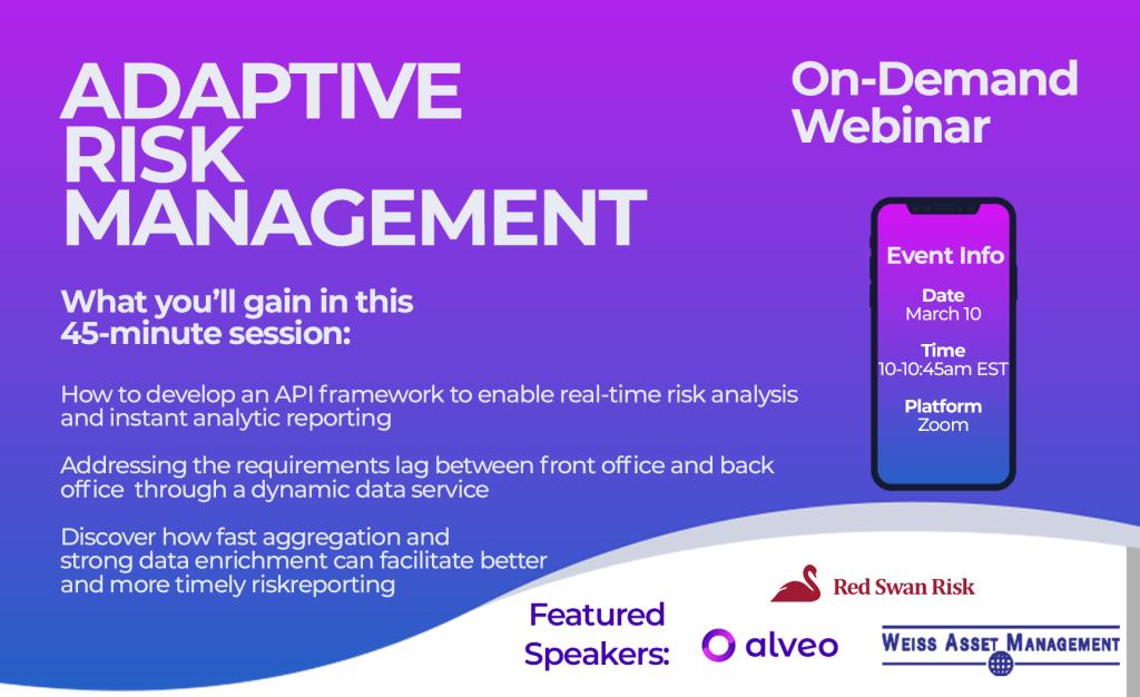 On-Demand Webinar: Adaptive Risk Management