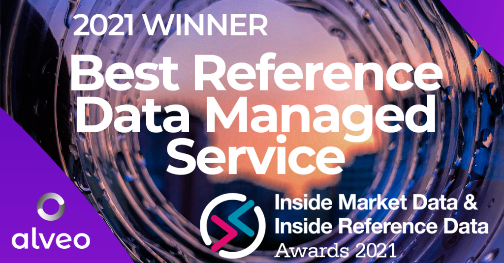 Alveo clinches IMD / IRD's Best Reference Data Managed Service Award