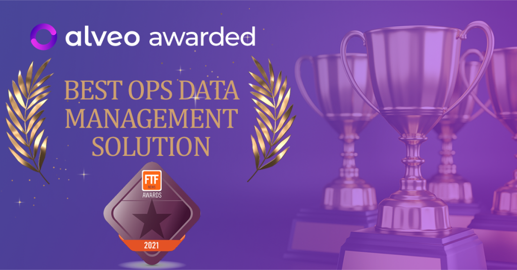 Alveo concludes strong Q2 Award run by winning FTF News' Best Ops Data Management Solution