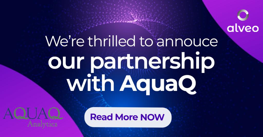 AquaQ and Alveo announce strategic partnership, creates Prime – kdb+ integration