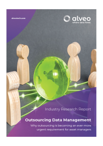 Outsourcing Data Management Research Report